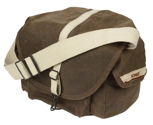 Brašňa Domke F-3X SUPER COMPACT BAG RUGGEDWEAR BROWN