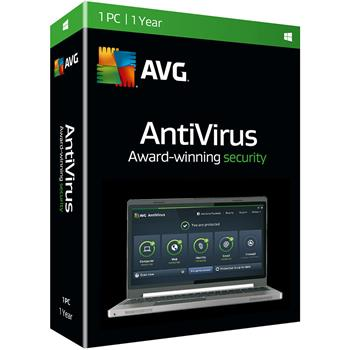 Software AVG Anti-Virus 2016 2 lic., 2 roky, SN DVD