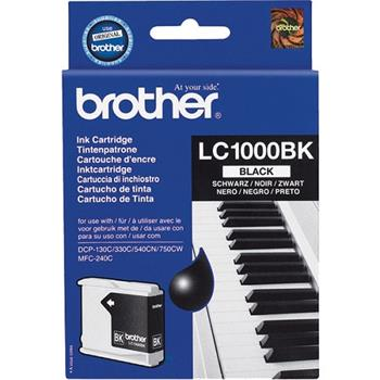 Atrament Brother LC-1000BK - černý/black (500 str.)