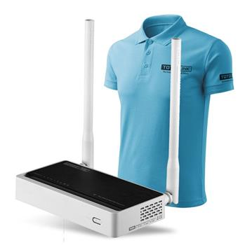 WiFi router Totolink N300RT AP/router/repeater/client, 4x LAN, 1x WAN (2,4GHz, 802.11n) 300Mbps, 2 SSID