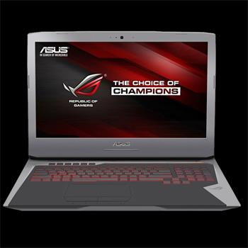 Notebook Asus G752VY 17,3, i7-6700HQ, 2T+256SSD, 16GB, NV, W10 + hra Forza
