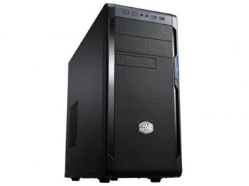 Case CoolerMaster miditower N300, ATX, USB3.0, bez zdroje, black