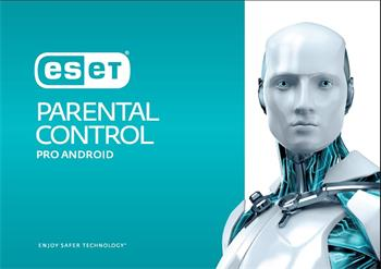 Software Eset Update Parental Control pro Android (1 licence pro celou rodinu), 1 rok
