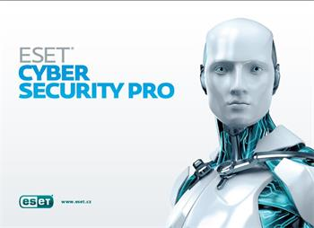 Software Eset Cyber Security Pro (Mac) 1 instalace, 2 roky