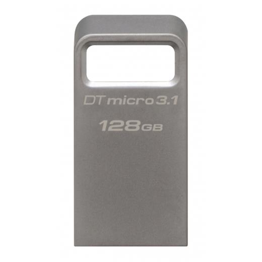 Flashdisk Kingston DataTraveler Mini 128GB, USB 3.1, 100/15MB/s, kovový