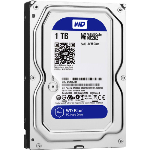 Disk Western Digital Blue 1TB 64MB SATAIII/600 5400rpm