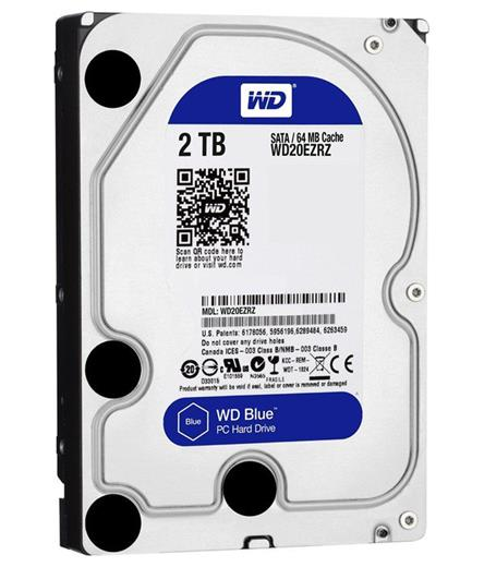 Disk Western Digital Blue 2TB 64MB SATAIII/600 5400rpm