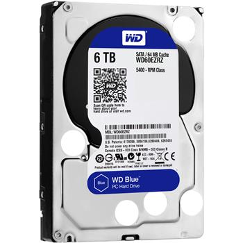 Disk Western Digital Blue 6TB 64MB SATAIII/600 5400rpm