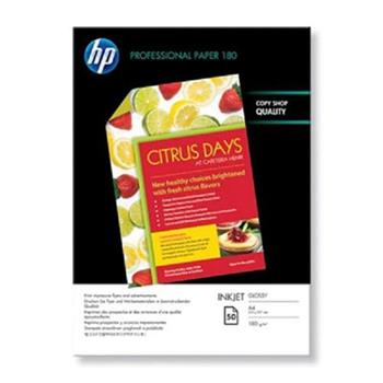 Papier HP Professional Brochure and Flyer A4, lesk,50ks, 180g/m2