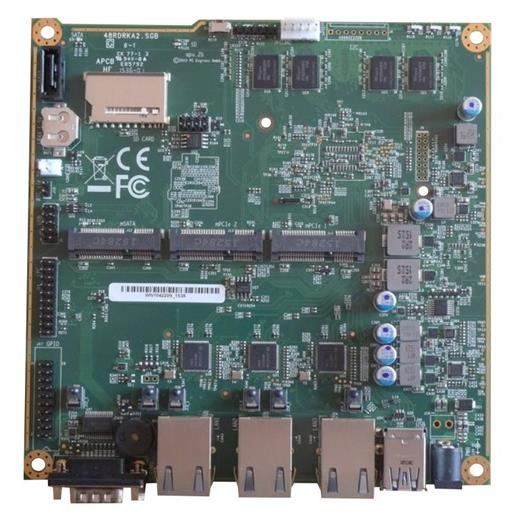 Doska PC Engines APU.2C2 system board 2GB / 3 GigE / 2 miniPCIE / mSATA / USB / RTC battery)