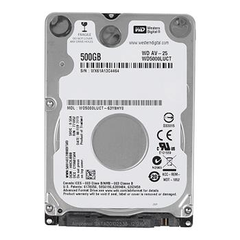 Disk Western Digital AV-25 500GB, 5400RPM, SATAII/300, 16MB