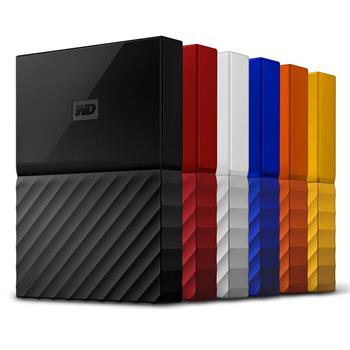 Disk Western Digital My Passport 4TB USB 3.0 černý