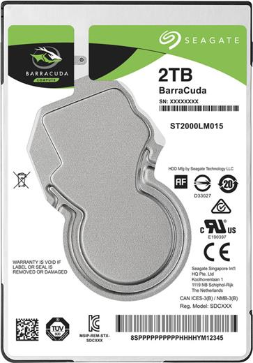 Disk Seagate BarraCuda 2.5