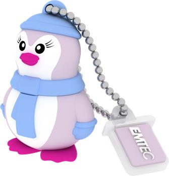 Flashdisk EMTEC M336 Miss Penguin 8GB USB 2.0