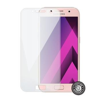 Tvrdené sklo Screenshield full COVER transparent pro Samsung A320 Galaxy A3 2017