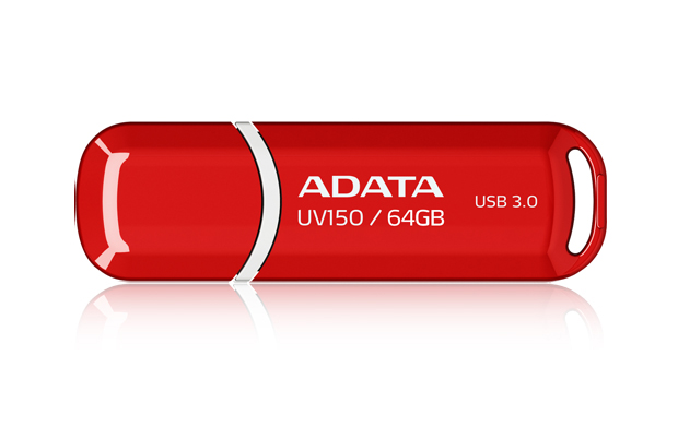 Flashdisk Adata UV150 64GB red (USB 3.0)