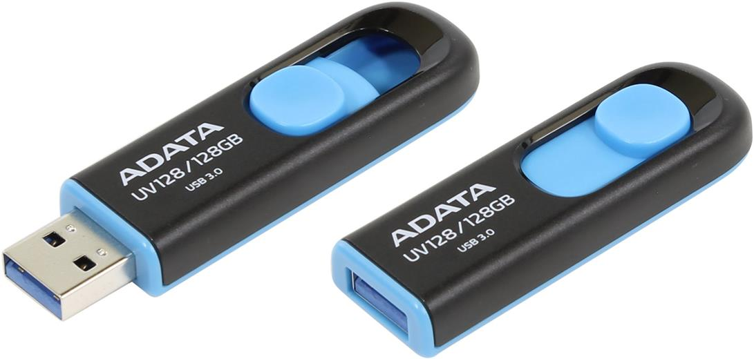 Flashdisk Adata UV128 128GB blue (USB 3.0)