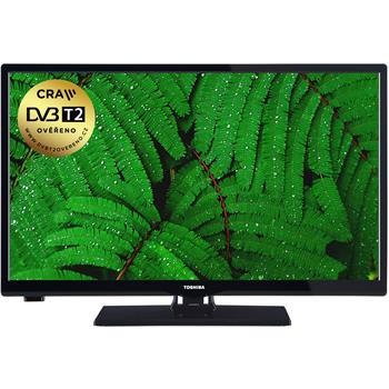Televízor Toshiba 24W1665DG HD TV T2/C/S2 (61cm) HD Ready