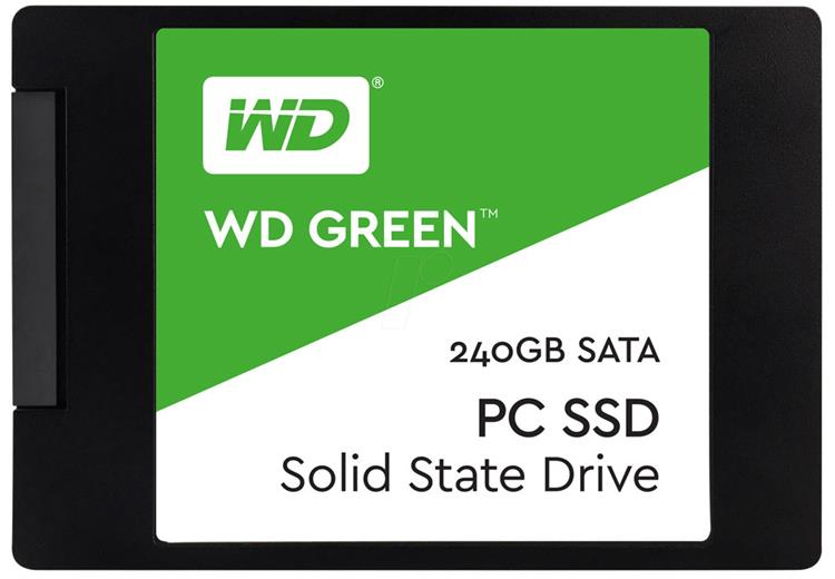 SSD disk Western Digital Green 240GB, 2,5