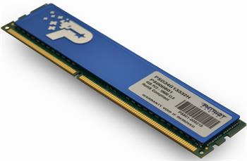 Pamäť Patriot 4GB DDR3 1333MHz CL9 DR s chladičem