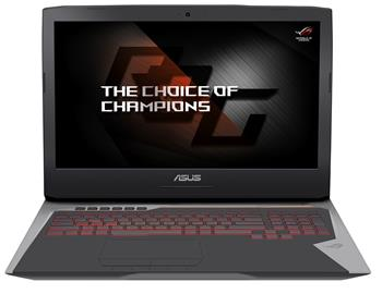 Notebook Asus G752VS 17,3
