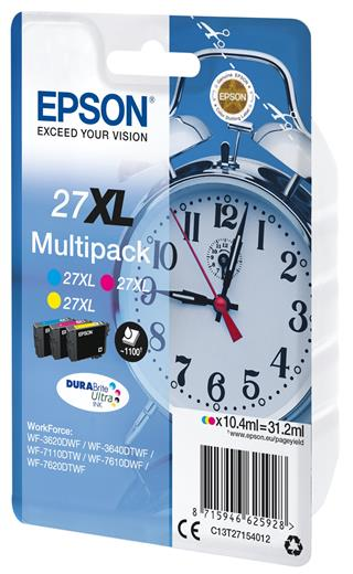 Atrament Epson 3-colour 27XL DURABrite Ultra Ink