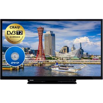 Televízor Toshiba 24DM763DG MOBILE TV+DVD T2/C/S2 (61 cm) HD ready
