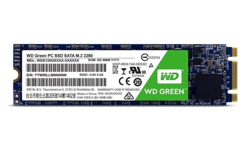 SSD disk Western Digital Green 3D 480GB M.2 SATA, 2280