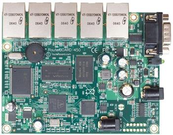 RouterBoard Mikrotik RouterBOARD RB450G 256 MB RAM, 5x GB LAN, OSL5