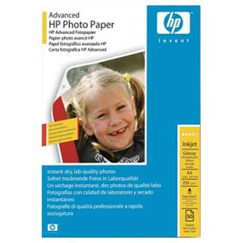 Papier HP Advanced Photo Paper, lesk, A4, 50 listů,250g/m