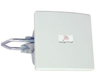 Anténa Interline panelová 8dBi 2,4GHz (s konektorem N-Female)
