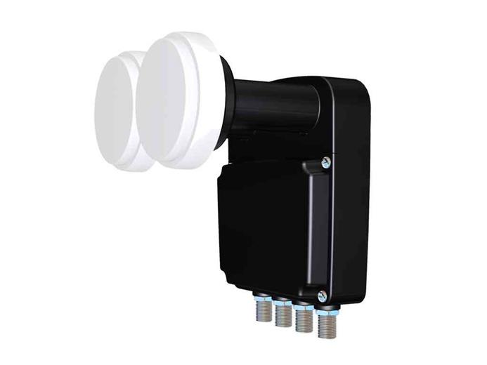 Konvertor Inverto BLACK Pro Quad Monoblock 23 mm LNB 4.3°