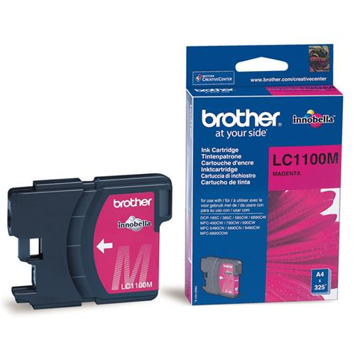 Atrament Brother Ink LC-1100M magenta
