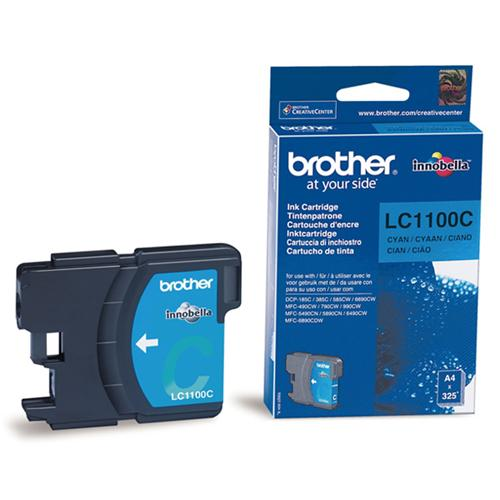 Atrament Brother Ink LC-1100C cyan