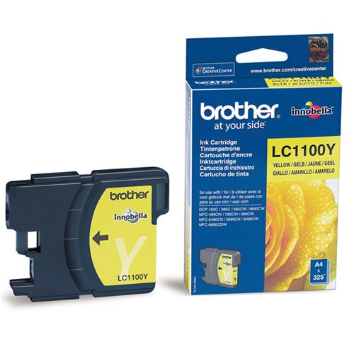 Atrament Brother Ink LC-1100Y yellow