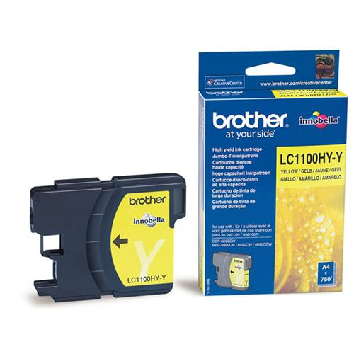 Atrament Brother Ink LC-1100HYY yellow