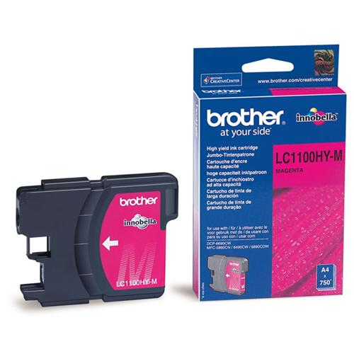Atrament Brother Ink LC-1100HYM magenta