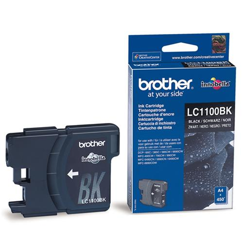 Atrament Brother Ink LC-1100BK černý