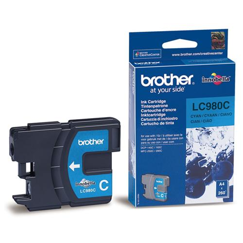Atrament Brother Ink LC-980C cyan