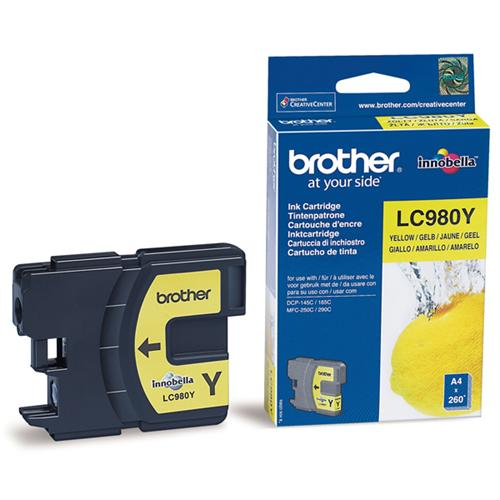 Atrament Brother Ink LC-980Y yellow
