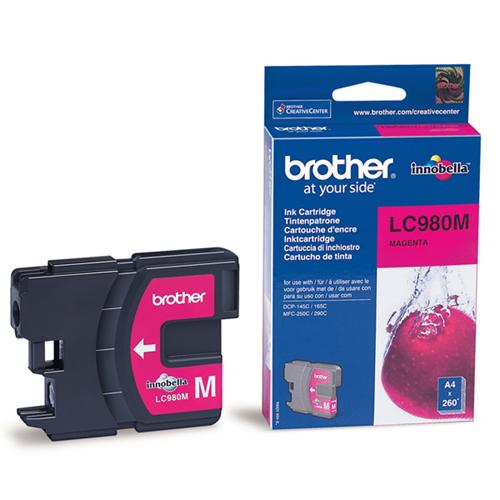 Atrament Brother Ink LC-980M magenta