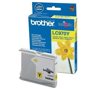 Atrament Brother Ink LC-970Y yellow