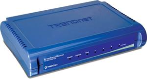 Router Trendnet TW100-S4W1CA 4-Port Broadband Router