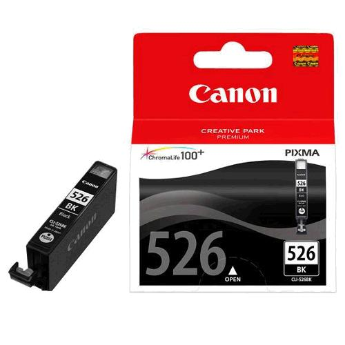 Atrament Canon cartridge CLI-526Bk černý