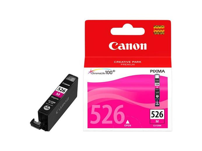 Atrament Canon cartridge CLI-526M purpurový