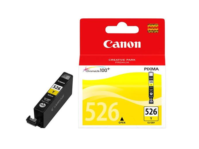 Atrament Canon cartridge CLI-526Y žlutý