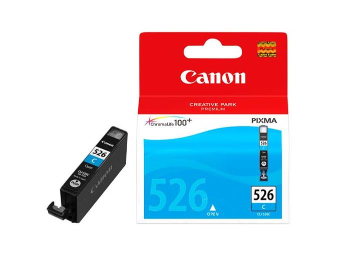 Atrament Canon cartridge CLI-526C azurový