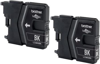 Atrament Brother Ink LC-985 BKBP2 (inkoust multipack-2xčerná)