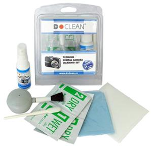 D Clean Premium Digital Camera Cleaning Set - čistící set