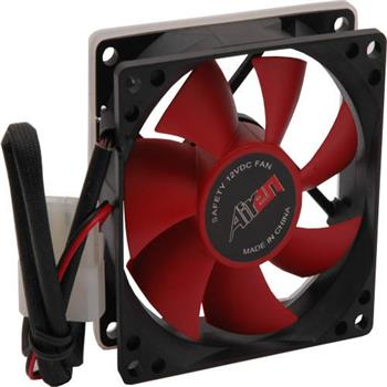 Ventilátor Airen FAN RedWings80D 80x80x25mm